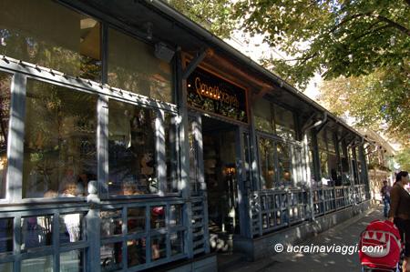 ristorante caffè in odessa