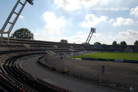 interno stadio Shaktar a Donetsk 1