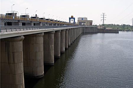 Zaporizhzhia, la sponda sud della diga