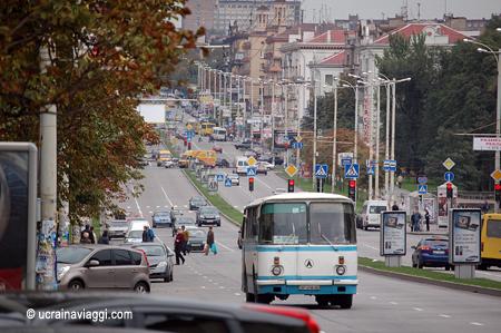 Zaporizhzhia la città